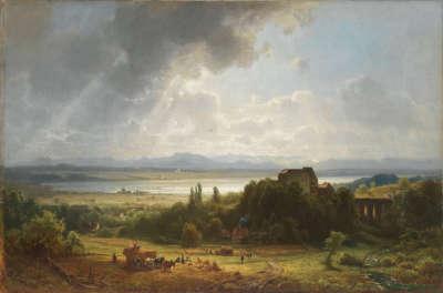 Ansicht des Starnberger Sees