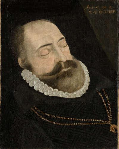 Herzog Albrecht V. auf dem Totenbett