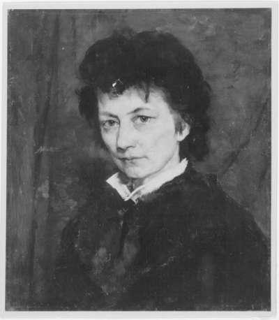 Die Malerin Agathe Röstel
