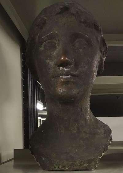 Weibliche Kopfbüste