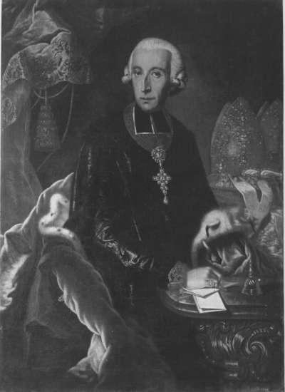 Bildnis des Franz Ludwig Graf von Erthal, Fürstbischof von Bamberg und Würzburg (1730-95)