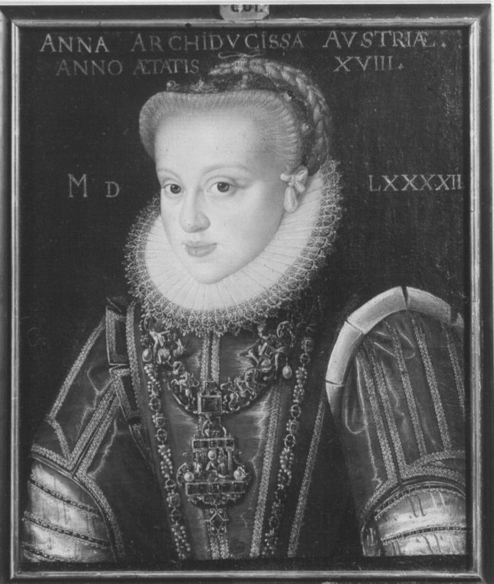 Bildnis der Erzherzogin Anna im Alter von 18 Jahren