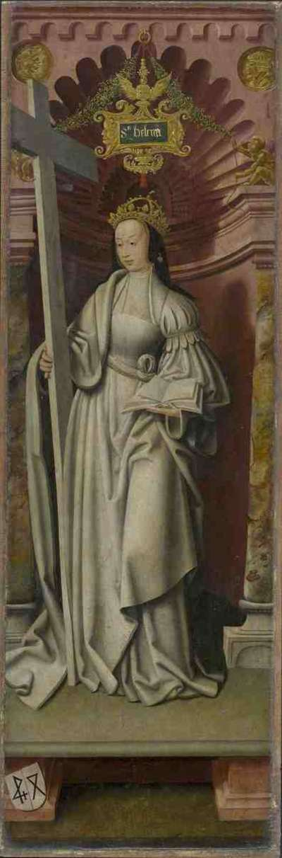 Kreuzigungsaltar: Hl. Helena