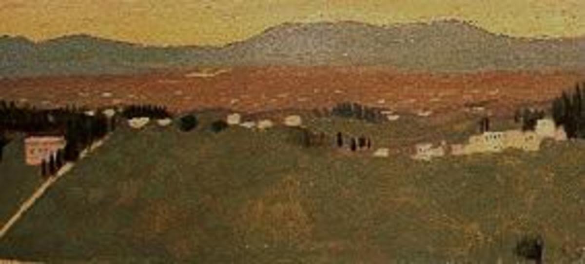 Landschaft bei Fiesole