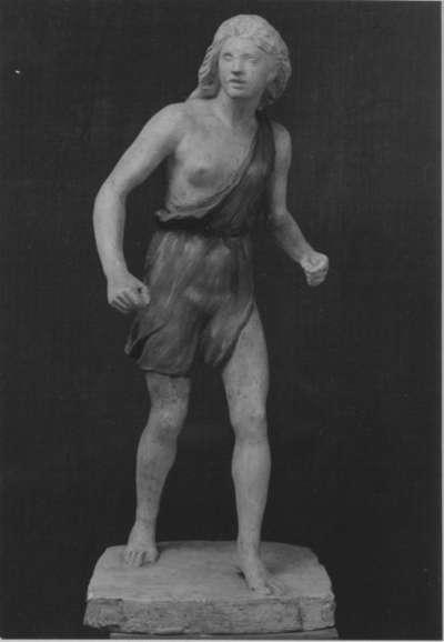 Junge Jägerin (Modell für die Nischenfigur am Hubertusbrunnen in München)