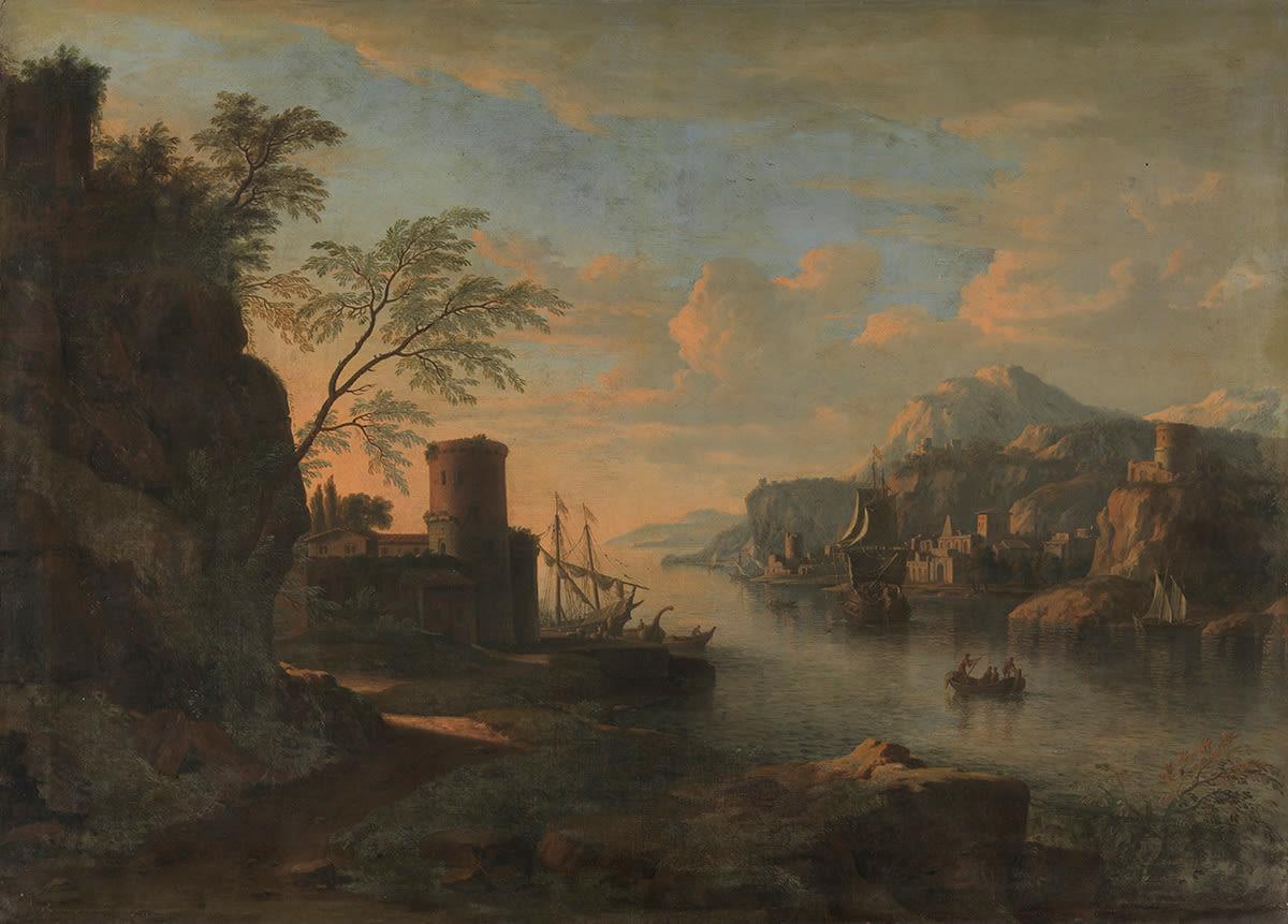 Südliche Hafeneinfahrt