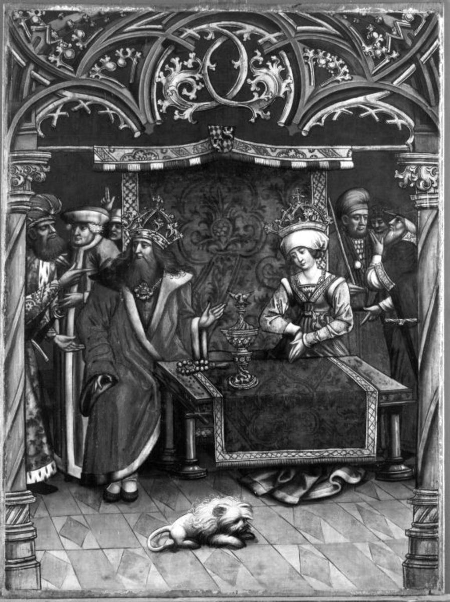 Kaiserin Kunigunde wird des Ehebruchs beschuldigt