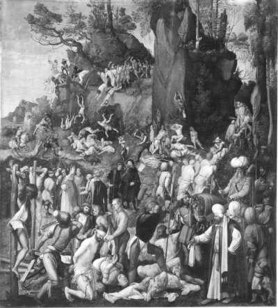 Marter der Zehntausend (Kopie nach dem Original von 1508 in Wien)