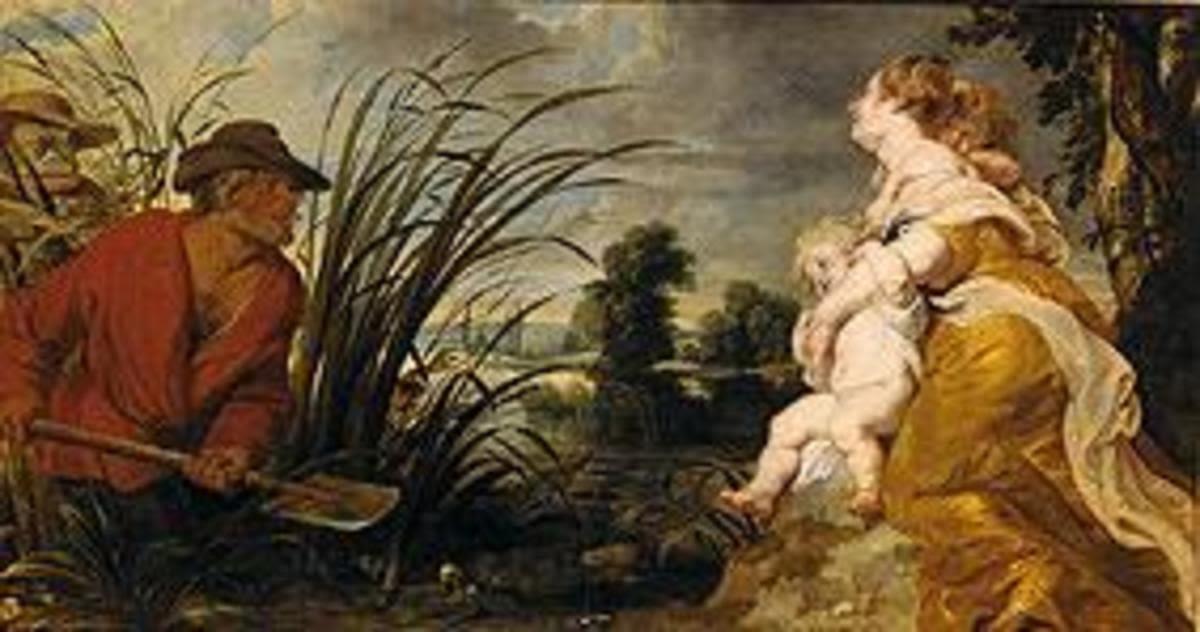 Latona und die lykischen Bauern