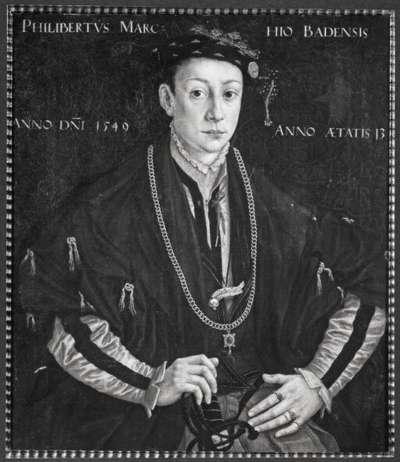 Markgraf Philibert von Baden
