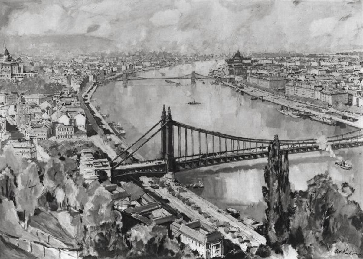 Ansicht von Budapest