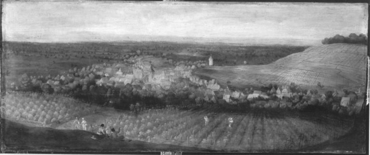 Ansicht von Weingarten in Baden