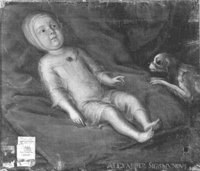 Alexander Sigmund als Kind