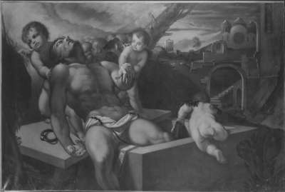 Christus am Grabesrand (nach Pordenone)