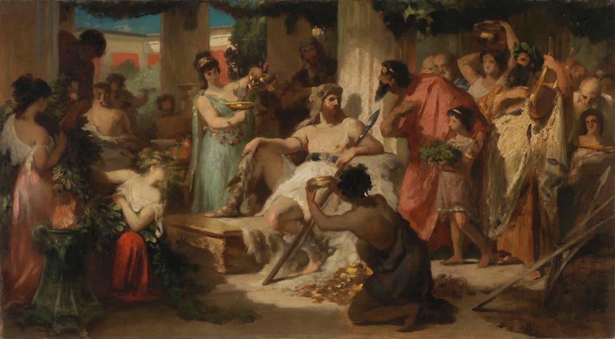 Alarich in Athen