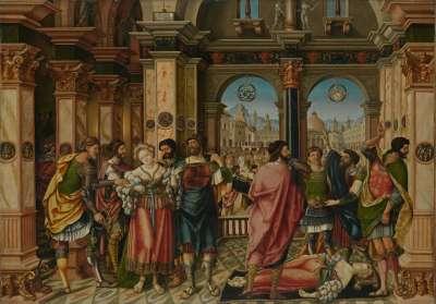 Historienzyklus: Selbstmord der Lucretia