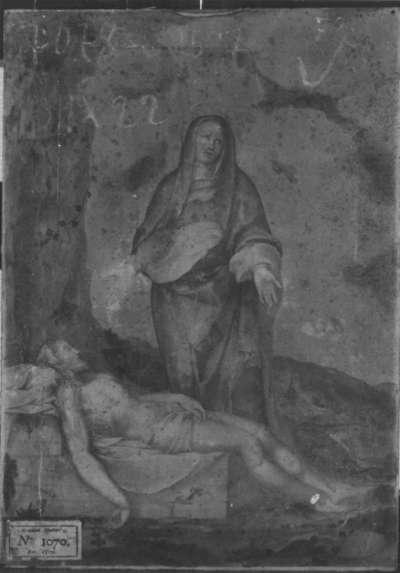 Christus im Grabe