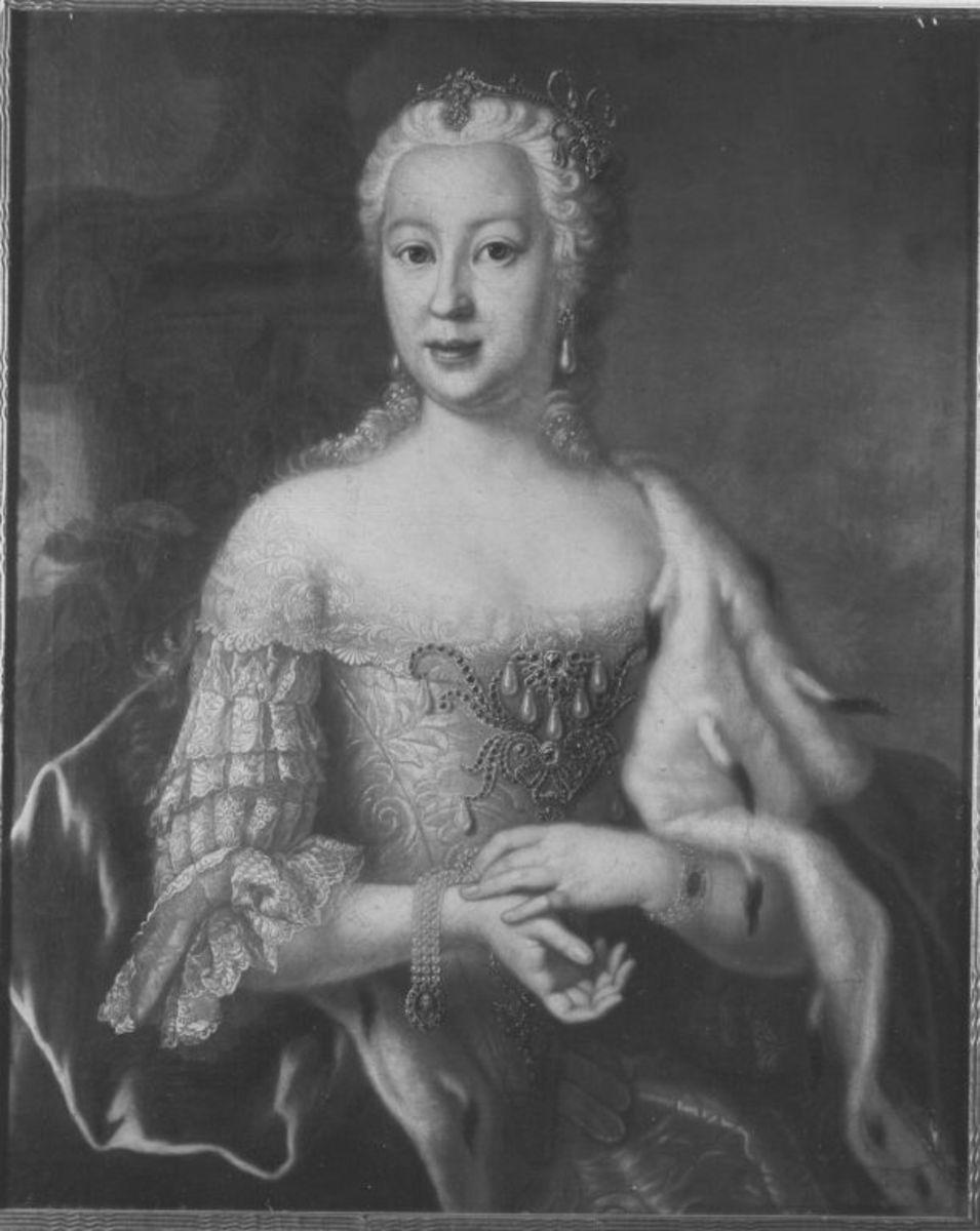 Bildnis der Maria Anna, Tochter von Joseph Karl Emanuel von Pfalz-Sulzbach; Gattin Herzog Clemens' von Bayern