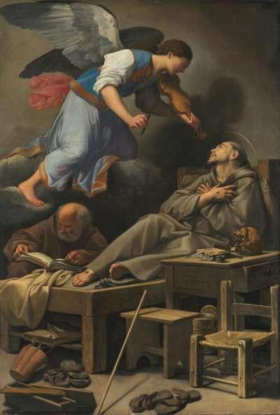 Die Vision des hl. Franziskus