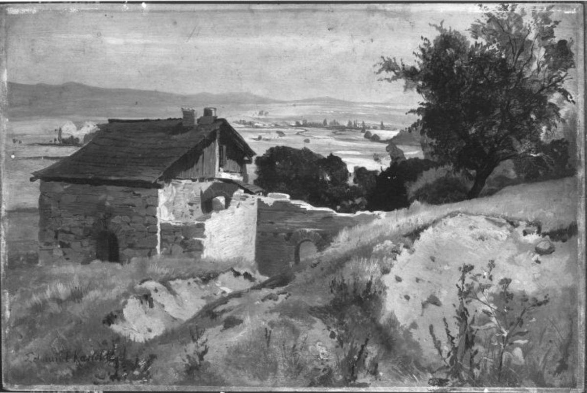 Landschaft bei Karlsbad