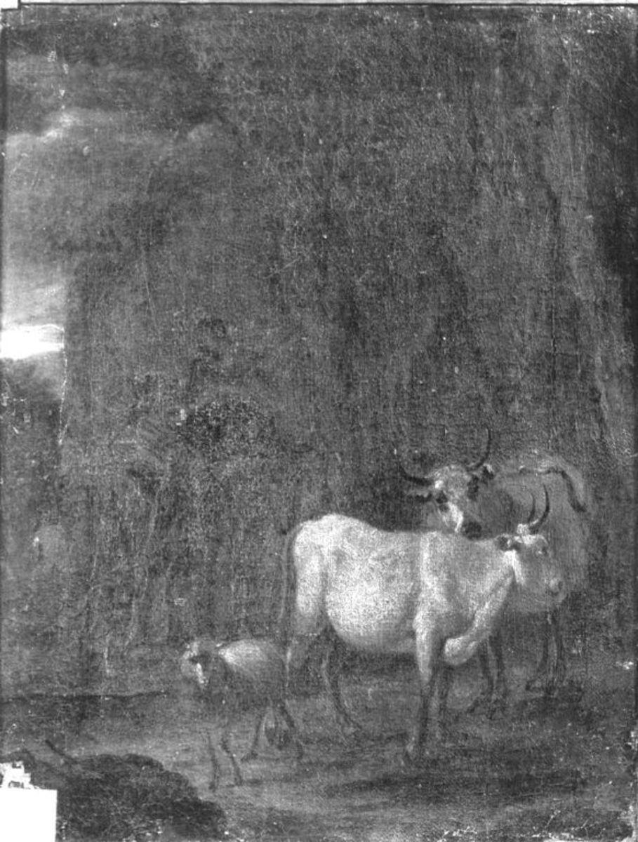 Vieh mit Hirten