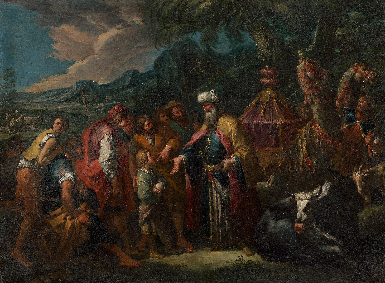 Josef wird von seinen Brüdern verkauft