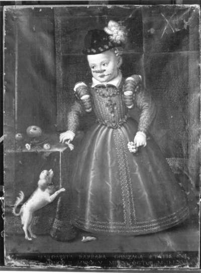 Kinderbildnis der Margaretha Barbara Gonzaga