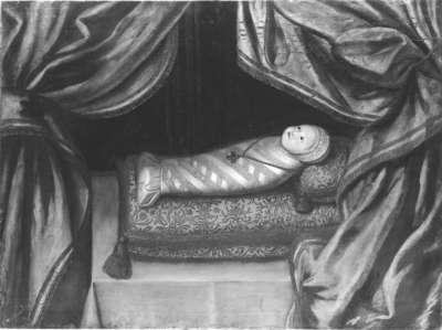 Maximilian I. als Wickelkind
