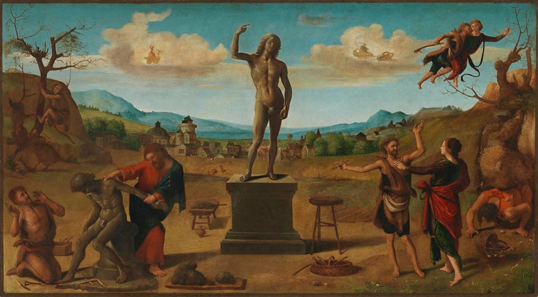 Prometheus erschafft den ersten Menschen