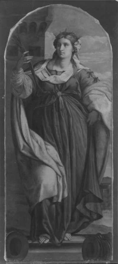 Hl. Barbara (nach Palma Vecchio)