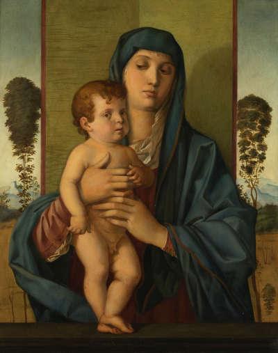 Madonna (nach Giovanni Bellini)