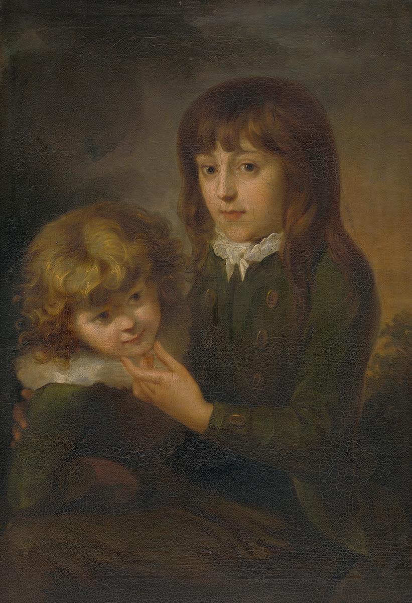 Doppelbildnis der Söhne des Künstlers