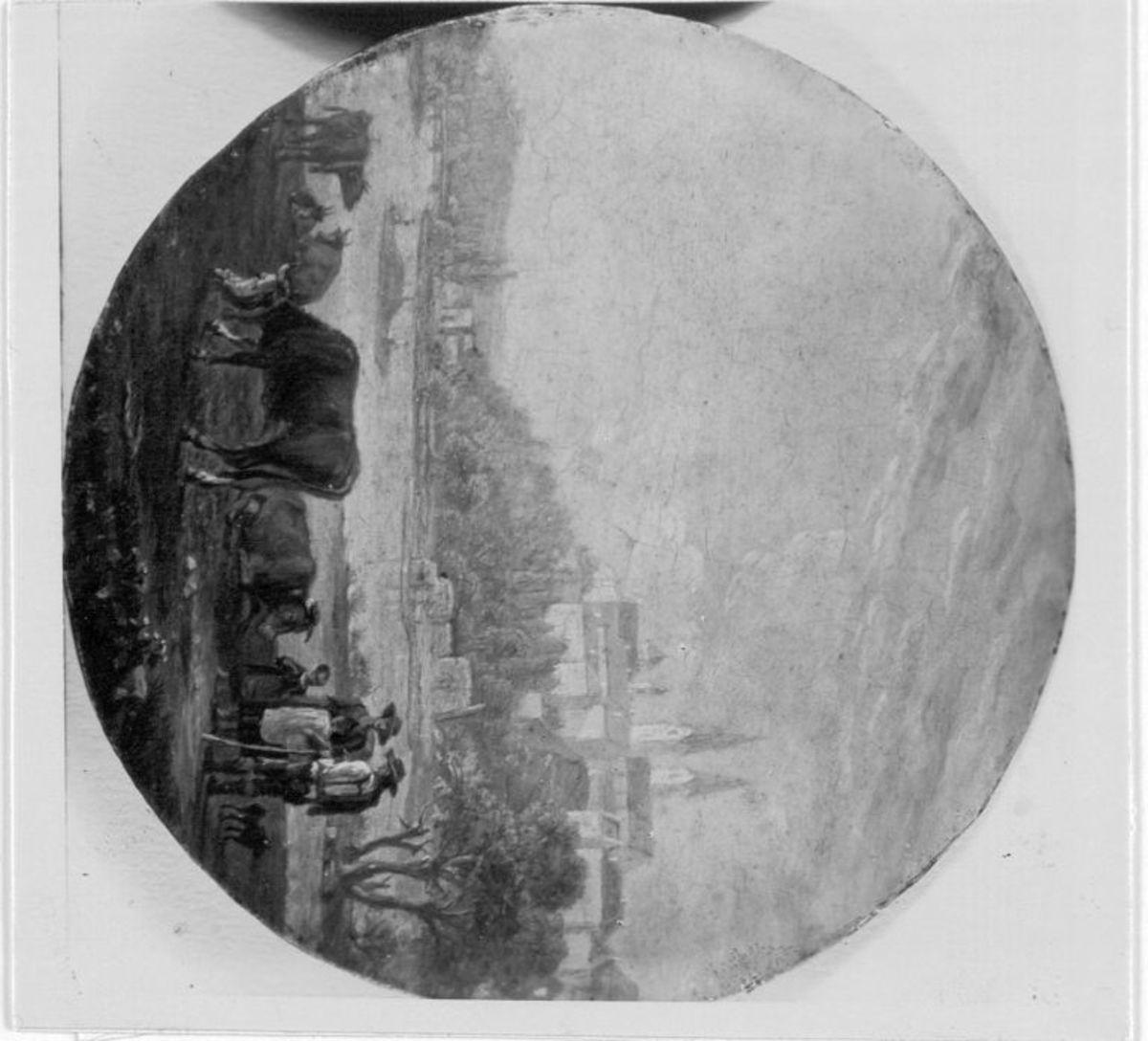 Rinder an der Isar bei Freising