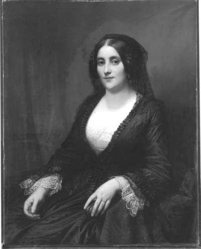 Bildnis einer Dame (Auguste von Kraft, geb. Heiligenstein)
