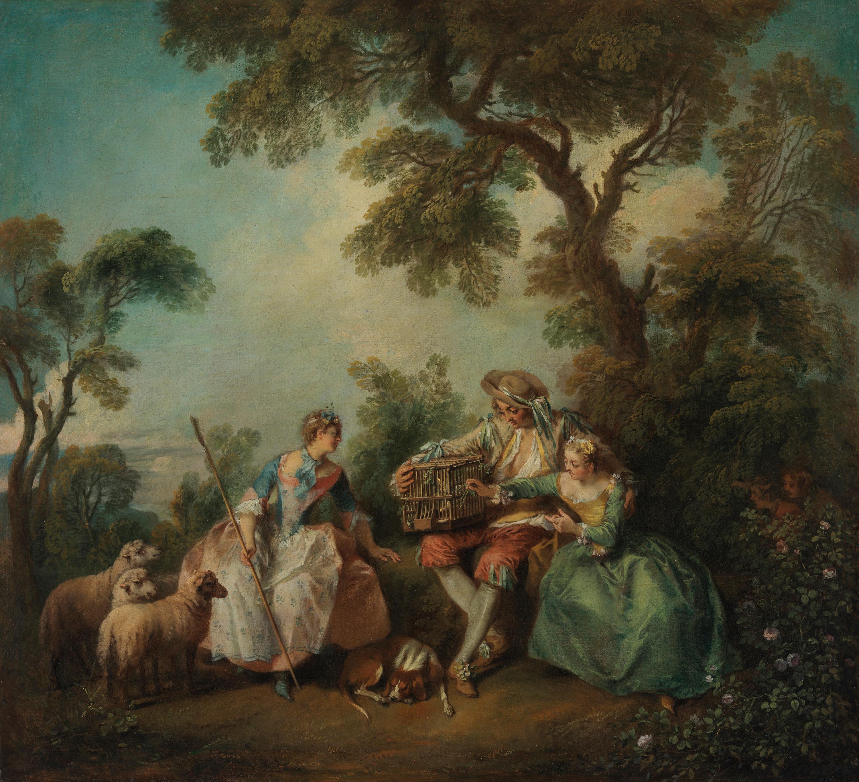 Der Vogelkäfig (Les amours du bocage)
