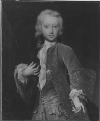 Bildnis des Markgrafen Karl Wilhelm Friedrich von Brandenburg-Ansbach (1712-1757) als Erbprinz im Alter von 13 Jahren