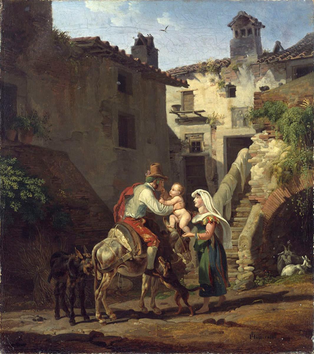 Bauernfamilie in Tivoli