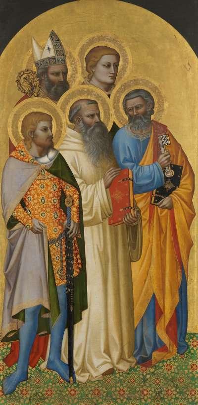 Hll. Petrus, Benedikt, Julian, Laurentius und Zenobius(?)