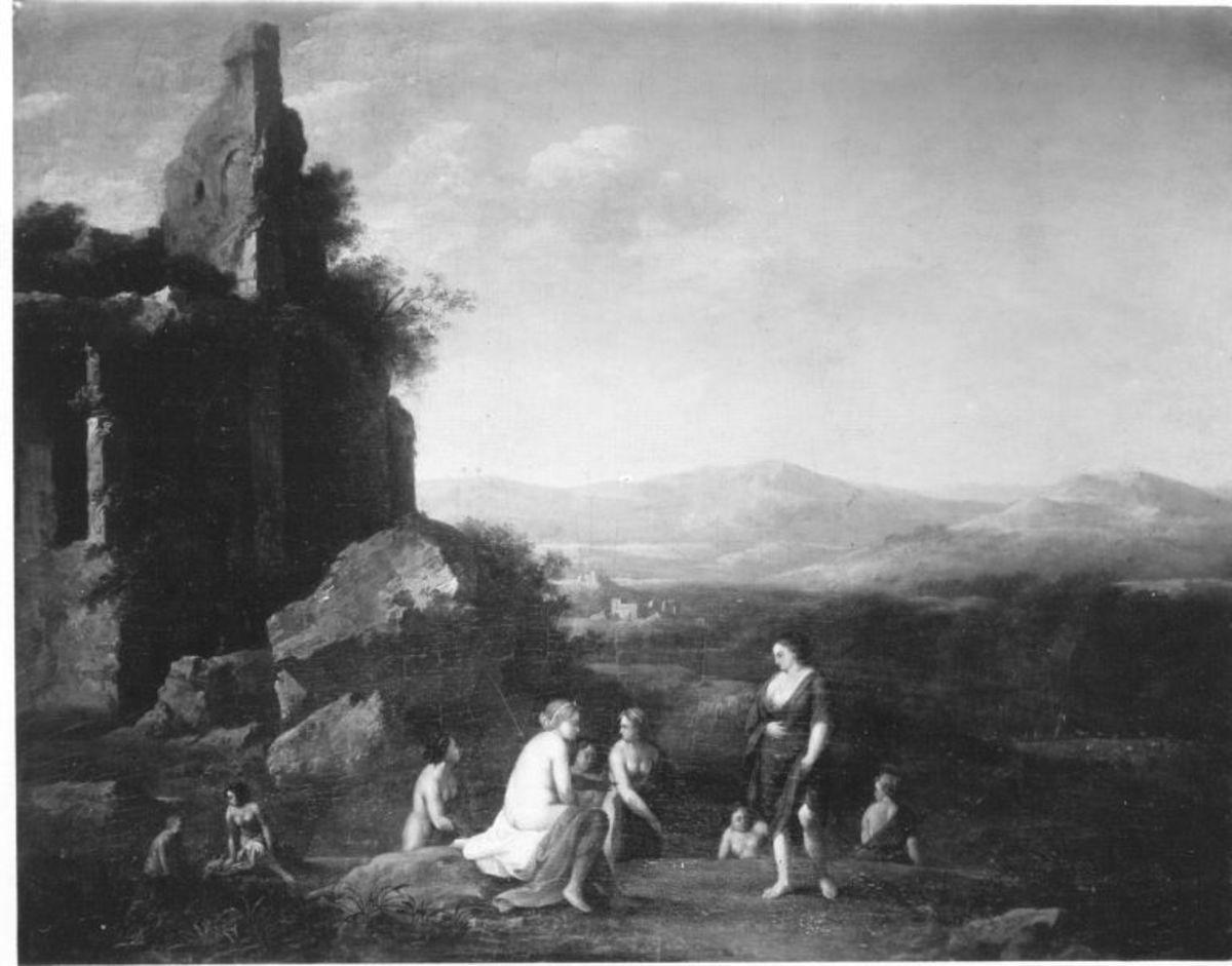Landschaft mit Callisto und Diana
