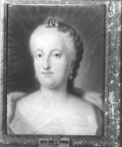 Christine Maria Anna Therese, Tochter des Königs Friedrich August von Sachsen