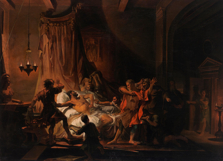 Der Tod des Cato von Utica
