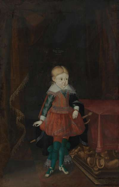 Kinderbildnis Friedrich Wilhelm von Sachsen-Altenburg