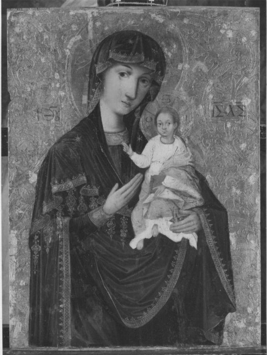 Ikone: Maria mit Kind (Hodegetria)