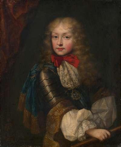 Kinderbildnis des Erbprinzen Viktor Amadeus II. von Savoyen