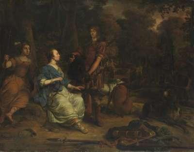 Meleager und Atalante