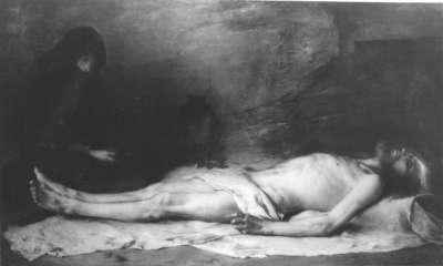 Die Beweinung Christi durch Magdalena