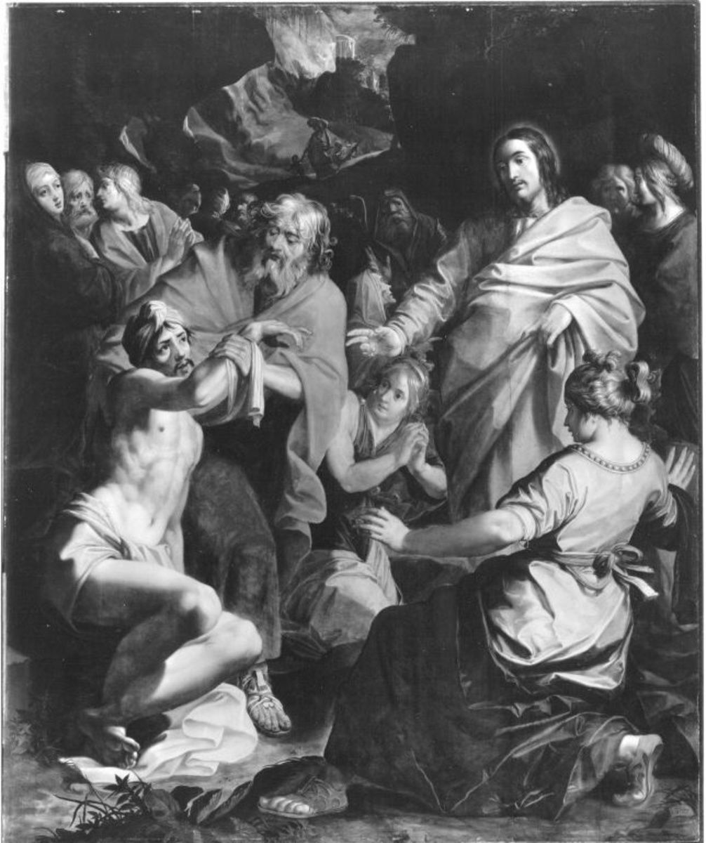 Die Erweckung des Lazarus