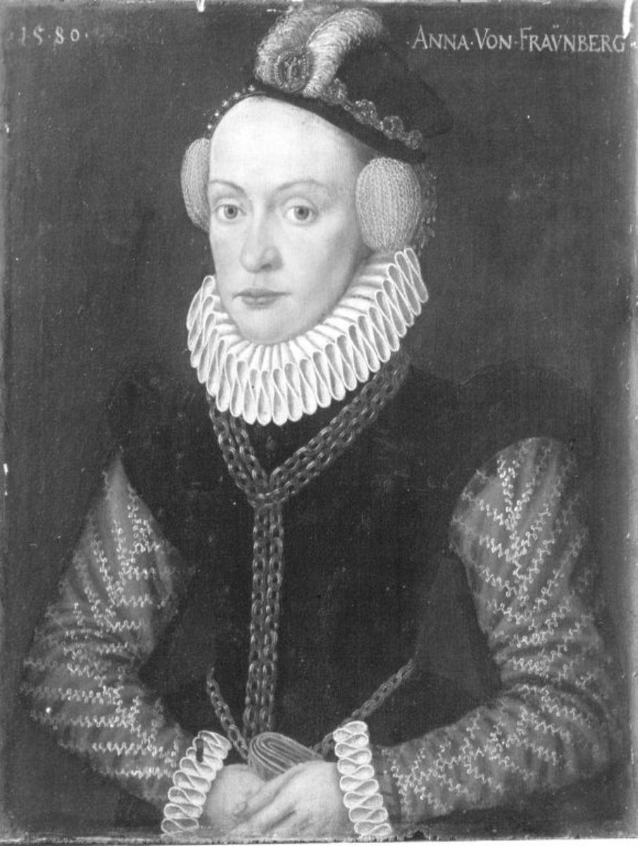 Bildnis der Anna von Frauenberg