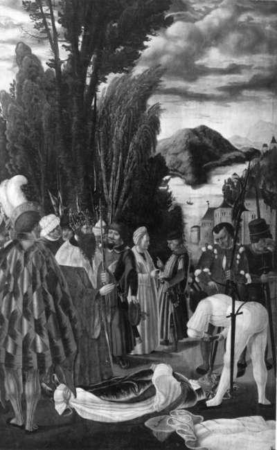Martyrium des hl. Leodegar von Autun