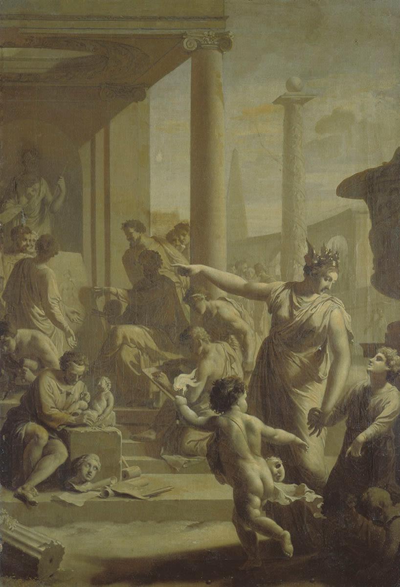Einführung in den Tempel der Schönen Künste